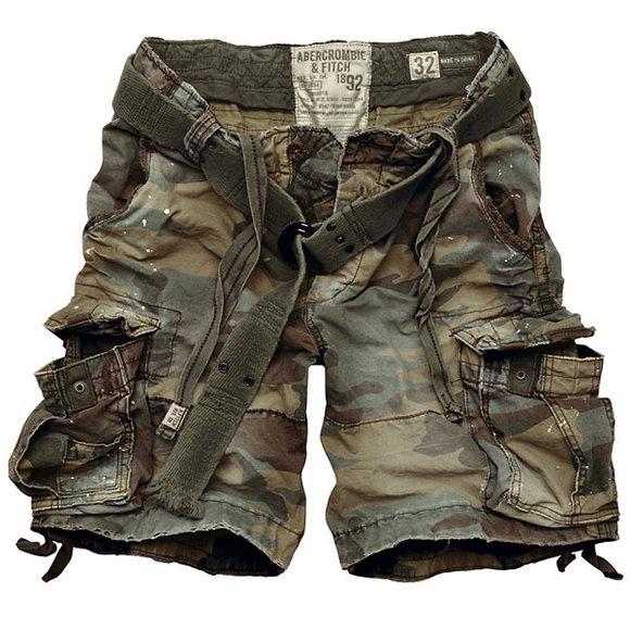 Summer - Mens Camo Shorts